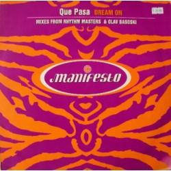 Que Pasa – Dream On (2 MANO,TEMAZO TECH-HOUSE¡¡)
