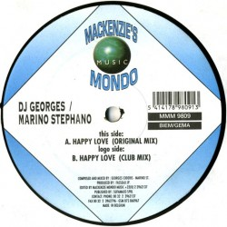 DJ George's & Marino Stephano – Happy Love (2 MANO,MELODIA DEL 98¡)
