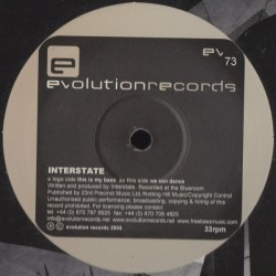 Interstate  – This Is My Bass / We Can Dance (2 MANO,EVOLUTION RECORDS¡¡)