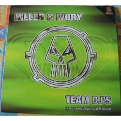 Team DJ's (DJ Killer & DJ Ivory) – Prince Of Love / Overtracks