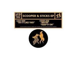 Scooper & Sticks – Scooper & Sticks EP (2 MANO,BASUCO HARDHOUSE¡)