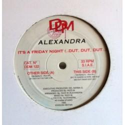 Alexandra – It's Friday Night (2 MANO,CANTADO ITALO MUY BUENO¡)