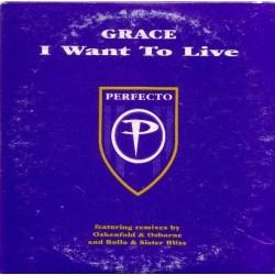 Grace – I Want To Live (2 MANO,MELODIA VOCAL DEL 97¡ SELLO PERFECTO))