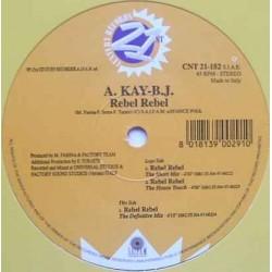A Kay BJ – Rebel Rebel (2 MANO,COMO NUEVO)