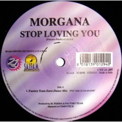 Morgana - Stop Loving You (2 MANO,COMO NUEVO)