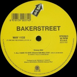 Bakerstreet – All I Have To Give