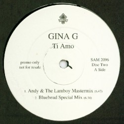 Gina G – Ti Amo (DISCO DOBLE IMPORT)