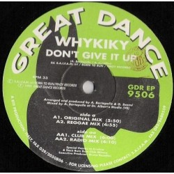 Whykiky – Don't Give It Up