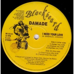 Damade – I Need Your Love