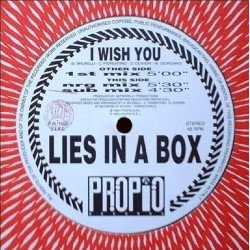 Lies In A Box – I Wish You